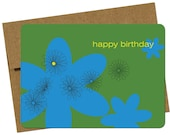 Haiti Relief - Birthday Flower , single card