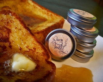 Warm and Toasty (solid perfume--warm french toast, maple syrup, butter, cinnamon)