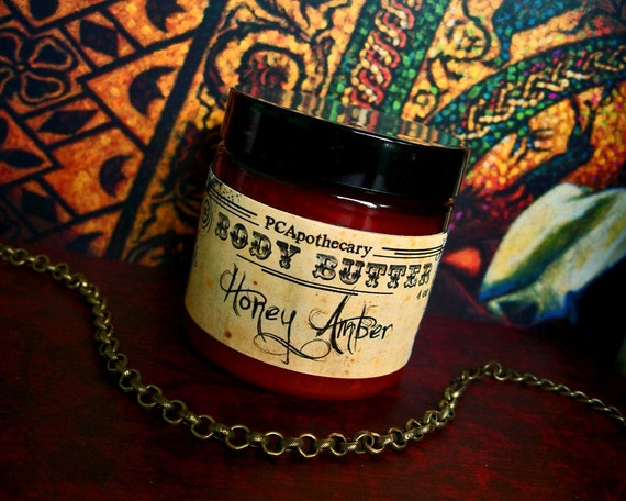 Honey Amber (body butter--honeycomb, amber, oak, applewood)