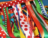 Circus Party Garland, Carnival Party, Big Top, Ready to ship, Candyland, Christmas, Holidays, Clown, Rainbow Party, A to Zebra Celebrations