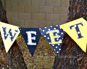 Ready to ship SWEETS mini banner