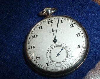Vintage Elgin 12 Size Special Dial 17 Jewels Pocket Watch