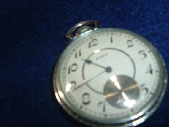 Gentlemen's Elgin 17 Jewels 12 Size Pocket Watch
