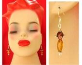 Crystal Silver Flower Earrings NEW Handmade Jewelry Women Beaded Accessories