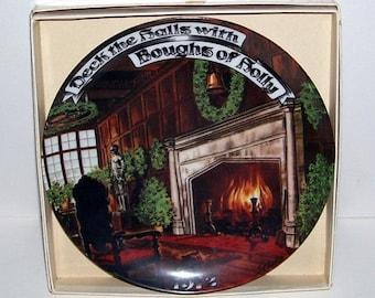 Seven Seas Trader Christmas Carol Series Plate