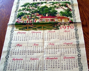 1970 Vintage Bless This House Linen Towel, Window Cover, Pastoral Setting, Prayers, Daily Prayer, Religious Towel, Linens, Wall Hanging