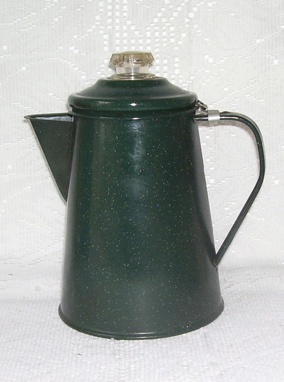how to clean metal coffee pot