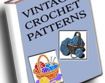Vintage Crochet Patterns eBook/PDF file