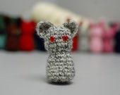 Little Grey Kitty Foo Foo