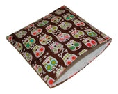 Reusable Sandwich Bag - Bonehead Sugar Skulls