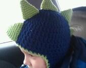 Dinosaur Hat FREE SHIPPING