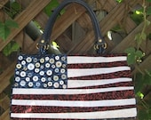 Old Gloria Handbag Pattern - A Quilting and Sewing Project / Flag Purse