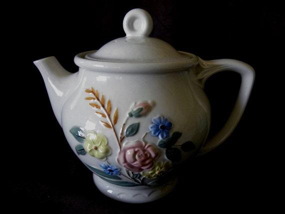 Vintage 1950s Porcelier Huge Teapot - 64 ounces
