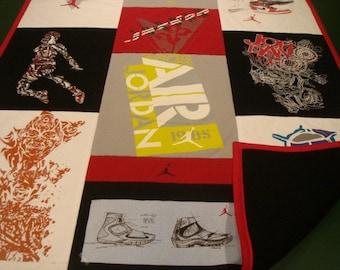SHOW OFF BLANKET Custom T-Shirt Blanket