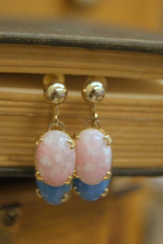 Vintage Dangle Easter Egg Earrings