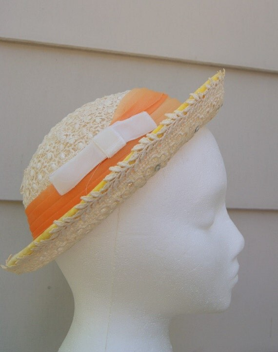 1940s Lace Spring HAt