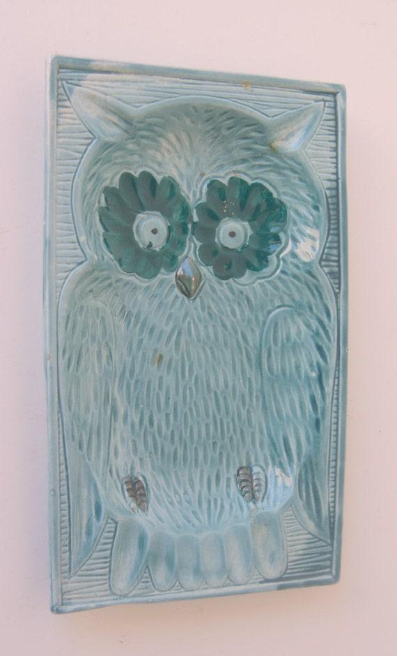 Vintage Owl Ash Tray