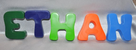 how to make letter shaped crayons