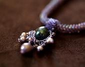 Blue Elegance Necklace