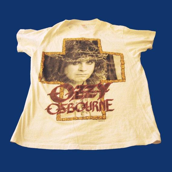 Vintage Ozzy Osbourne 1988 Concert T Shirt - Great Condition  - Size L