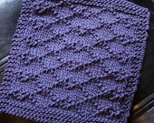 KNITTING PATTERN-Kris Kross, Dishcloth Pattern