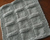 KNITTING PATTERN-Bridgette, Dishcloth Pattern