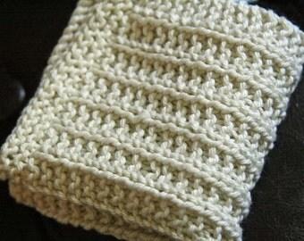 KNITTING PATTERN-Keep it Straight-er (yet), Dishcloth Pattern