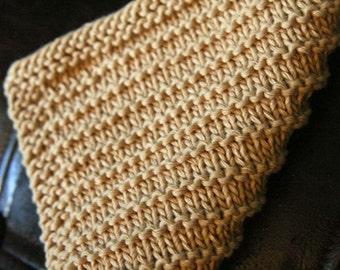 KNITTING PATTERN-Corduroy, Dishcloth Pattern