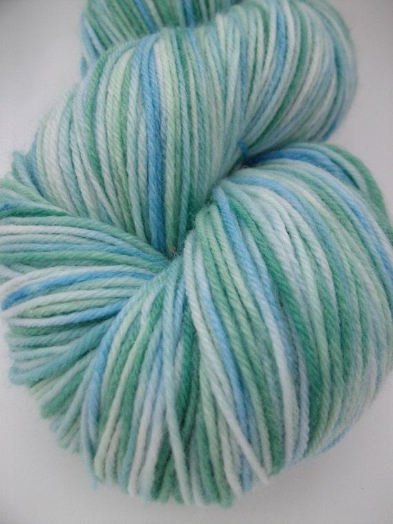 Sea Glass- sock yarn, 425 yards