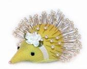 Pincushion, Hedgehog: Joy - Handmade