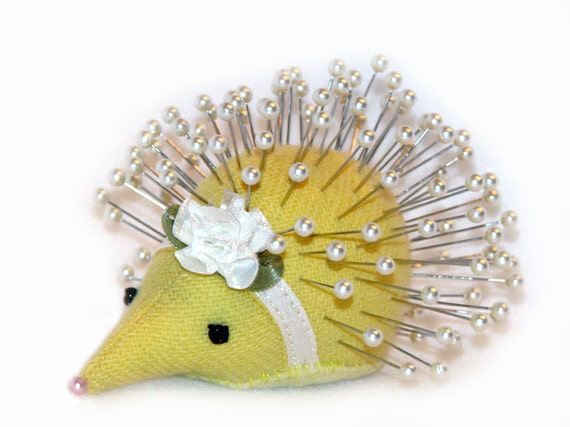 Pincushion, Hedgehog: Joy - Handmade