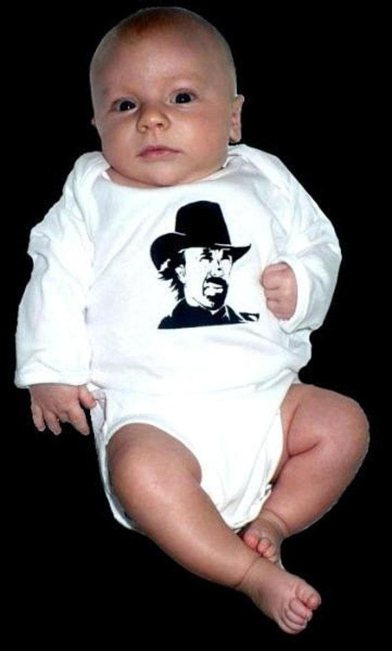 Chuck Norris Baby Onesie Must See By Supersweetshirts On