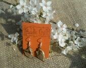 Scotch Pine Bark Wooden Earrings