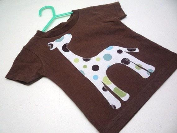 Lilikoi Lane Giraffe Shirt You Choose Fabric