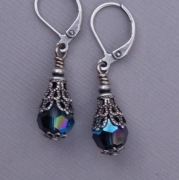 Twilight Blue Splendor Earrings