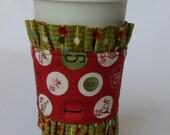 Adorable Christmas cup cozy