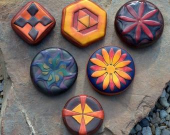 Handmade Leather Containers (medium)