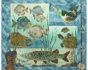 McKenna Ryan Pine Needles Something Fishy 4 Pattern Set