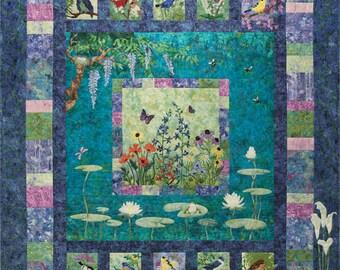Bella Garden Set of 6 Quilt Patterns McKenna Ryan Pine Needles