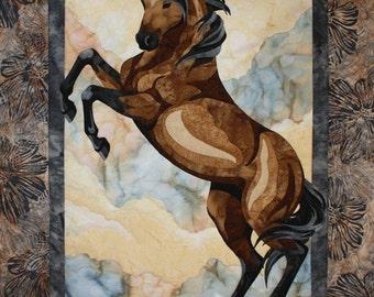 The Guardian Toni Whitney Horse Fusible Applique Quilt Pattern