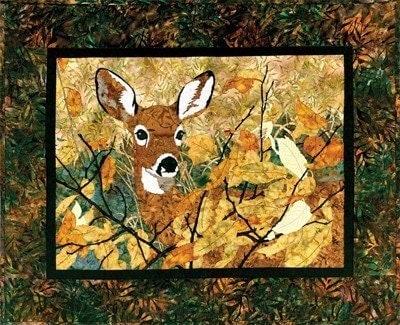 Deer Pattern Quilt