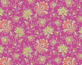 1 yard - Sari Blooms in Raspberry - Soul Blossom by Amy Butler - Amy Butler Fabric