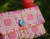 Greeting cards in a retro pouch