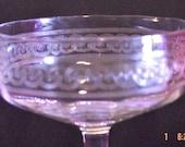 VINTAGE CRYSTAL  CHAMPAGNE GLASSES