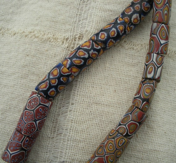 Vintage Strand of Antique African Trade Beads Nice Quality