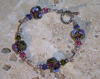 Floral Jewel Bracelet