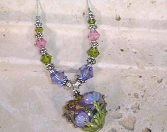 Floral Jewel Necklace
