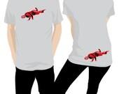 Breakdancing Luchador Shirt - Red