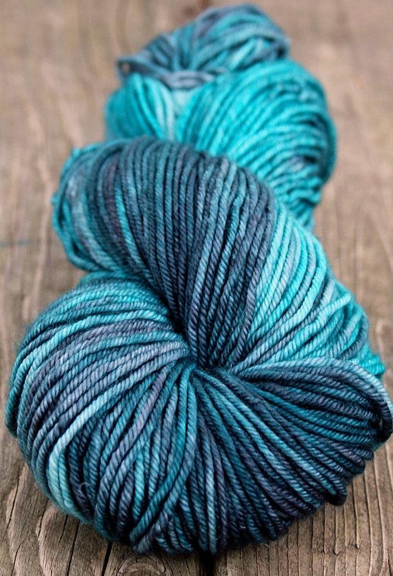 Cashmere Merino Hand Dyed Worsted Yarn - 115g