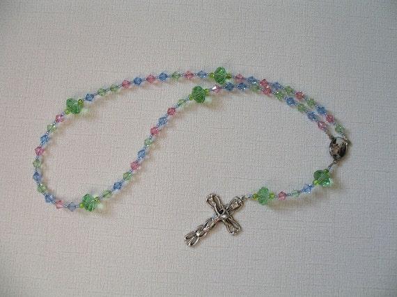 Sparkling Pastel Rosary